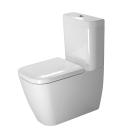 Унитаз напольный с бачком и сиденьем микролифт Duravit Happy D 2134090000+0934100005+0064590000