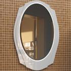 Зеркало с подсветкой 71 см белое Edelform Тондо 2-670-00-S