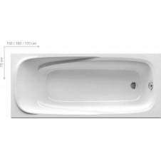 Ванна акриловая прямоугольная 1700*700 Ravak Vanda 2 170