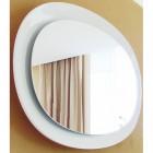 Зеркало с подсветкой 95 см белое Clarberg Дюна Dun.02.10/W