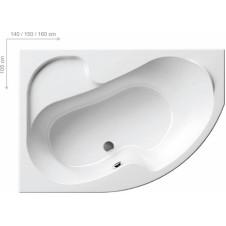 Ванна акриловая асимметричная левая 1400*1050 мм Ravak Rosa 1 140 L