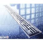 Душевой трап 700 мм с опорами и решеткой Tece Basic 600700