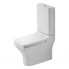Унитаз напольный с бачком и сиденьем микролифт Duravit Pura Vida 21190900001+0872700005+0069190000