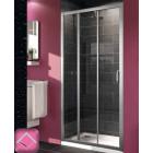 Душевая дверь раздвижная 3-х секционная 100 см Huppe X1 120305.069.321