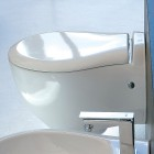 Унтитаз подвесной с крышкой микролифт Artceram Blend L3110 + S40