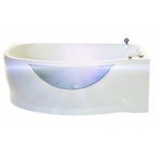 Ванна акриловая асимметричная левая 1700*940 Triton Milena L
