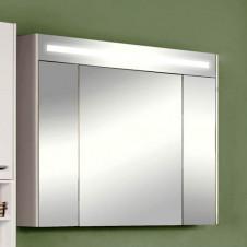 Шкаф зеркальный 100 см белый Акватон Блент 1A166502BL010