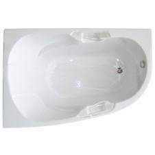 Ванна акриловая асимметричная правая 1495*995 Bellrado Дени