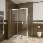 Боковая стенка 80 см для душевого ограждения Radaway Premium Plus S 33413-01-08N