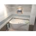 Ванна акриловая асимметричная левая 1700*800 Bas Капри