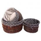 Набор корзин плетеных 3 шт Comforty LU-519 S3