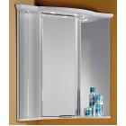 Шкаф зеркальный 62 см белый угловой Акватон Альтаир 427-2