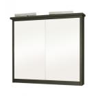 Шкаф зеркальный с подсветкой 100 см Мойдодыр Руно 100-ЗШ