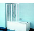 Шторка на ванну Ravak VS5 белая+Раин