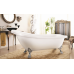Ванна акриловая на ножках хром 1850*800 Faro Ретро 9009 (1850)