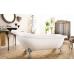 Ванна акриловая на ножках хром 1500*760 Faro Ретро 9009 (1500)