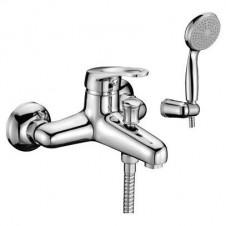 Смеситель на ванну с душевым прибором Lemark Omega LM3102C