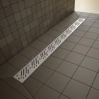 Линейный трап 5-7 мм, длина 750 мм, решетка RAIN 5L075B/5R075R