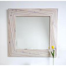 Зеркало 100 см светлое дерево Clarberg Папирус Вуд Pap-w.02.10/LIGHT
